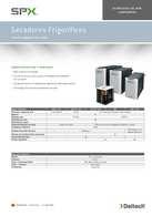 Catálogo secadore de membrana DELTECH DMD DMM